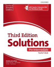 Комплект за учителя Solutions 3E Pre-Intermediate ESS TB & RES Disk Pack -1