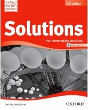 Тетрадка английски език за 9-12. кл. Solutions 2E Pre-Intermediate WB & CD PK -1
