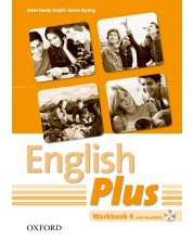 Тетрадка English Plus 4 WB & MU-ROM Pack -1
