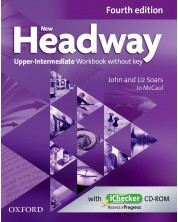 Headway, 4th Edition Upper-Intermediate: Workbook without Key & iChecker CD
