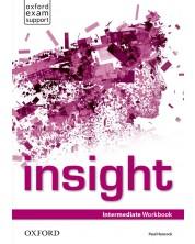 Тетрадка по английски език за 8. клас Insight Intermediate WB