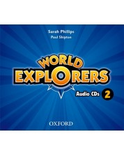 World Explorers 2 Class CD