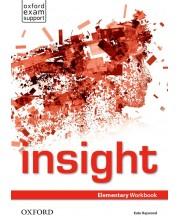 Тетрадка по английски език за 8. клас Insight Elementary WB