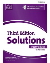 Книга за учителя Solutions 3E Intermediate ESS TB & RES Disk Pack -1
