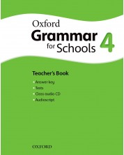 Oxford Grammar for schools 4 Teacher's book & Audio CD - Книга за учителя -1