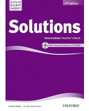 Solutions 2E Intermediate Teachers Book & CD-ROM Pack -1