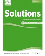 Solutions 2E Elementary Teacher's Book & CD-ROM Pack -1