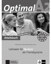 Optimal A2, Arbeitsbuch + Lerner-Audio-CD -1