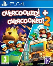 Overcooked! + Overcooked! 2 - Double Pack (PS4) -1