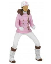 Фигурка Papo Horses, foals and ponies – Жокей, със зимни дрехи