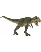 Фигурка Papo Dinosaurs – Бягащ тиранозавър рекс, зелен -1