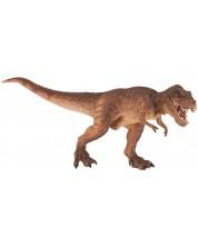 Фигурка Papo Dinosaurs – Бягащ тиранозавър рекс, кафяв -1