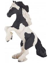 Фигурка Papo Horses, foals and ponies – Изправен кон, порода Коб