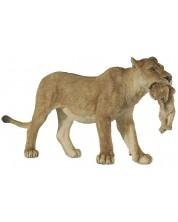 Фигурка Papo Wild Animal Kingdom – Лъвица с малко лъвче -1