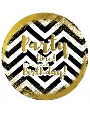 Табелка-картичка - Party time! It's your birthday!