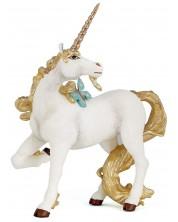 Фигурка Papo The Enchanted World – Еднорог със златна опашка -1