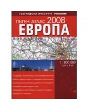 Пътен атлас Европа 2008