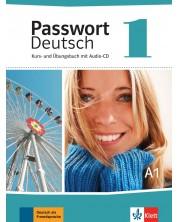 Passwort Deutsch Neu 1: Kurs- und Ubungsbuch + CD / Немски език - ниво А1: Учебник и учебна тетрадка + CD