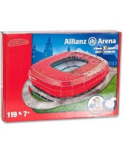 3D Пъзел Nanostad от 119 части – Стадион Allianz Arena (Germany)