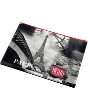 Папка с цип Panta Plast - Paris Collection, формат А4