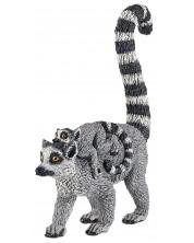 Фигурка Papo Wild Animal Kingdom – Семейство котешки лемури