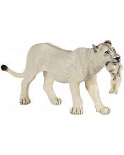 Фигурка Papo Wild Animal Kingdom – Семейство бели лъвове