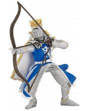 Фигурка Papo The Medieval Era – Рицар на Синия дракон, с лък и стрела