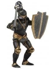 Фигурка Papo The Medieval Era – Рицар с черни доспехи