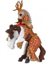 Фигурка Papo The Medieval Era – Конят на рицаря на Червения елен