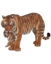 Фигурка Papo Wild Animal Kingdom – Тигрица с малко тигърче