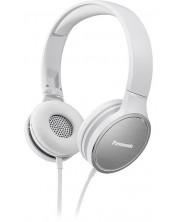 Слушалки с микрофон Panasonic RP-HF300ME-Q - бели