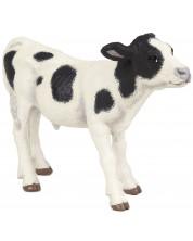 Фигурка Papo Farmyard Friends – Черно-бяло теленце