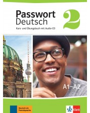 Passwort Deutsch Neu 2: Kurs- und Ubungsbuch + CD / Немски език - ниво А1-А2: Учебник и учебна тетрадка + CD