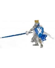 Фигурка Papo The Medieval Era – Рицар на Синия дракон