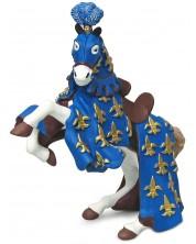 Фигурка Papo The Medieval Era – Конят на принц Филип, в синьо