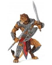 Фигурка Papo Fantasy World – Воинът Лъв