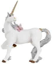 Фигурка Papo The Enchanted World – Eднорог със сребърна опашка