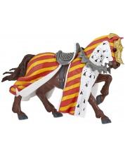 Фигурка Papo The Medieval Era – Рицарски кон за турнири