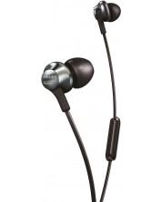 Слушалки с микрофон Philips PRO6105BK - черни