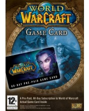 World of Warcraft 60 Day Pre-Paid Game Time Card (PC) -1