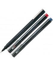 Тънкописец Uniball Pin Fine – Червен, 0.3 mm