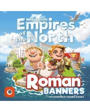 Разширение за настолна игра Imperial Settlers: Empires of the North - Roman Banners