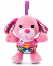 Музикална плюшена играчка Vtech - Розово кученце