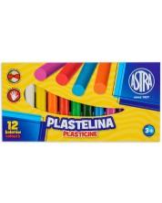 Пластилин Astra - 12 цвята