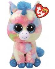 Плюшена играчка TY Toys Beanie Boos - Еднорог Blitz, 15 cm -1