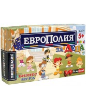Детска настолна игра PlayLand - ЕвроПолия