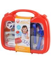 Игрален комплект PlayGo - Лекарски куфар, с инструменти