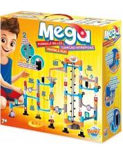Игра с мраморни топчета Buki Construction - Мега комплект -1