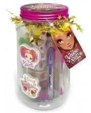 Подарък в буркан Nebulous Toys - Комплект за апликации