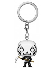 Ключодържател Funko Pocket Pop! Fortnite - Skull Trooper -1